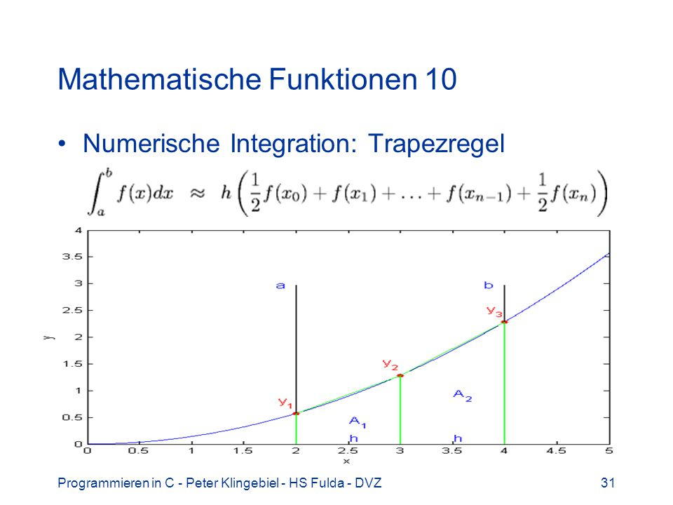 Mathematische Funktionen 10
