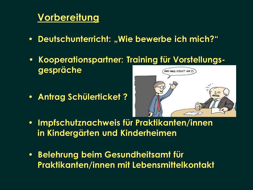 """Vorbereitung Deutschunterricht: """"Wie bewerbe ich mich"""
