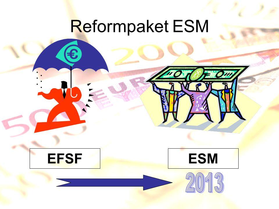 Reformpaket ESM EFSF ESM 2013