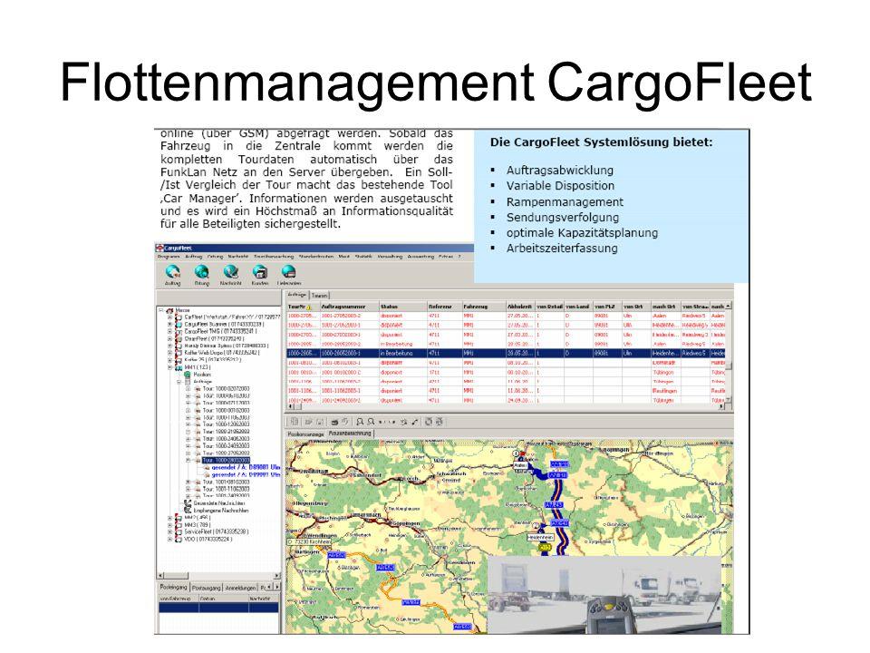 Flottenmanagement CargoFleet