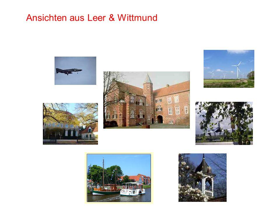 Ansichten aus Leer & Wittmund