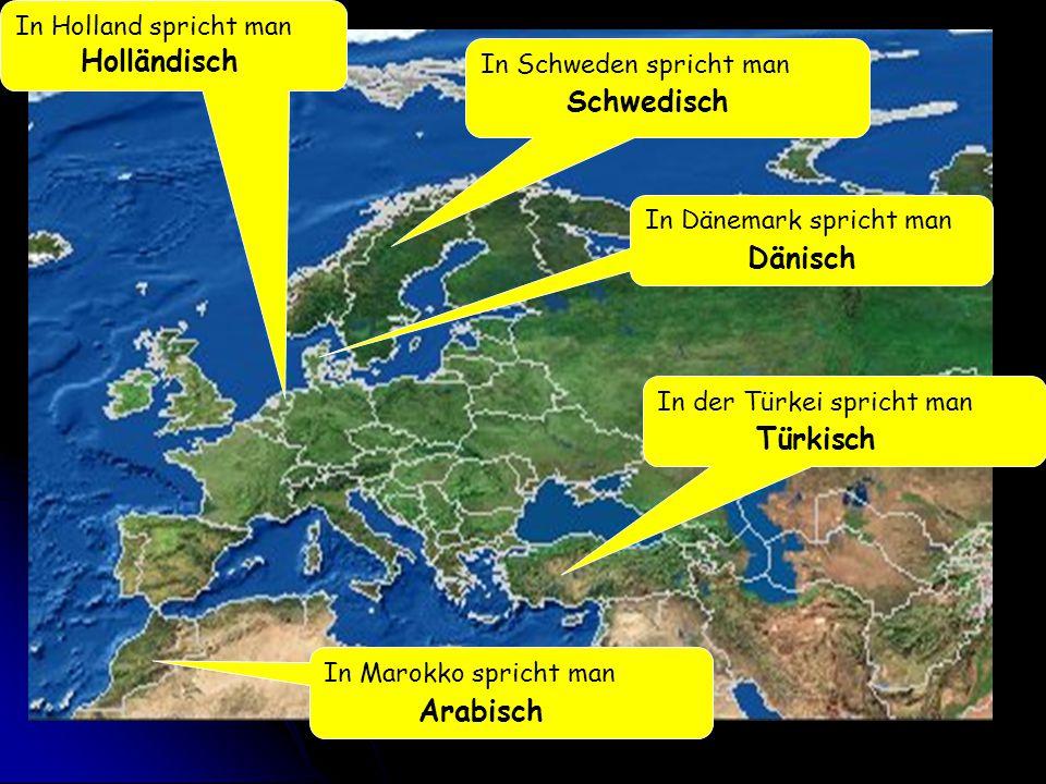 Holländisch Schwedisch Dänisch Türkisch Arabisch