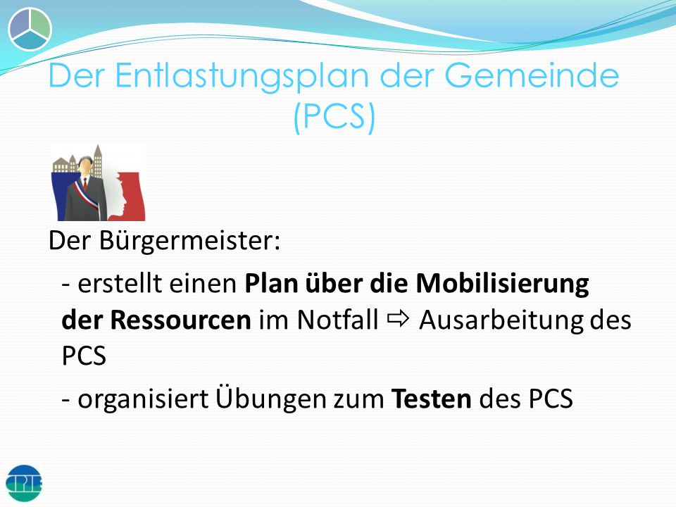 Der Entlastungsplan der Gemeinde (PCS)