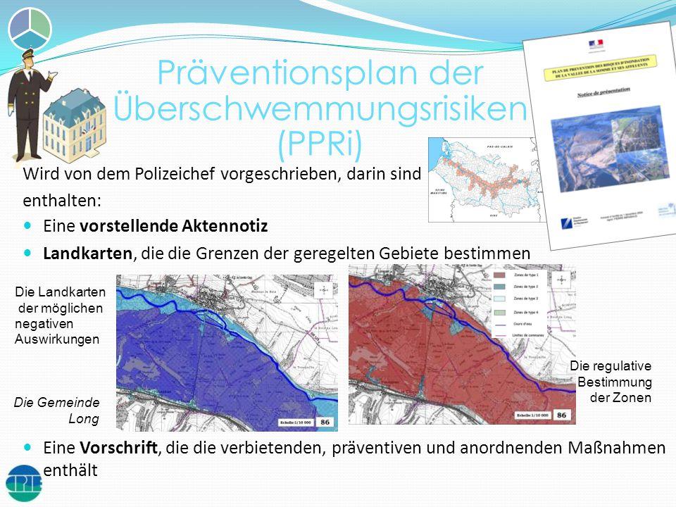 Präventionsplan der Überschwemmungsrisiken (PPRi)