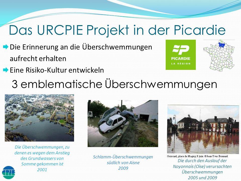 Das URCPIE Projekt in der Picardie