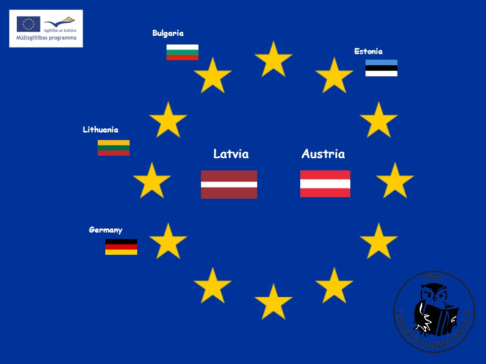 Austria Estonia Germany Latvia Lithuania Bulgaria