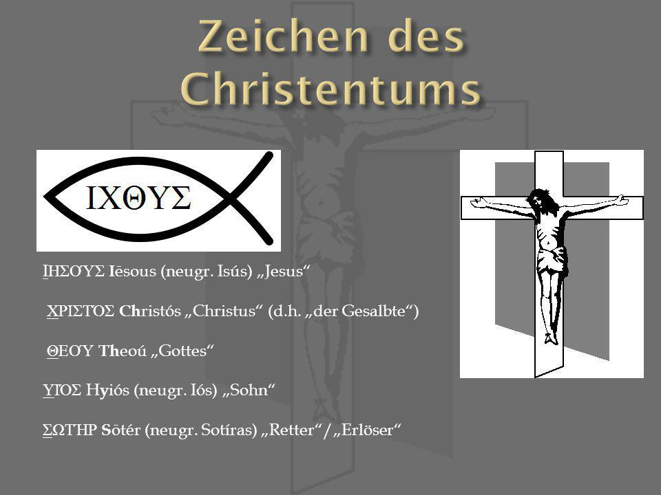 Zeichen des Christentums