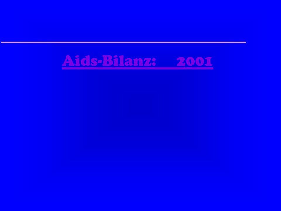 Aids-Bilanz: 2001