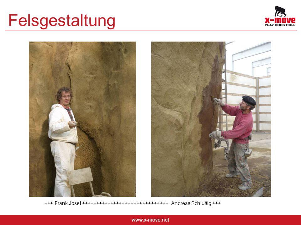 Felsgestaltung +++ Frank Josef ++++++++++++++++++++++++++++++ Andreas Schluttig +++ www.x-move.net