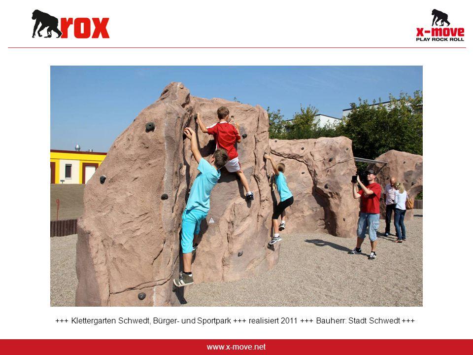 +++ Klettergarten Schwedt, Bürger- und Sportpark +++ realisiert 2011 +++ Bauherr: Stadt Schwedt +++