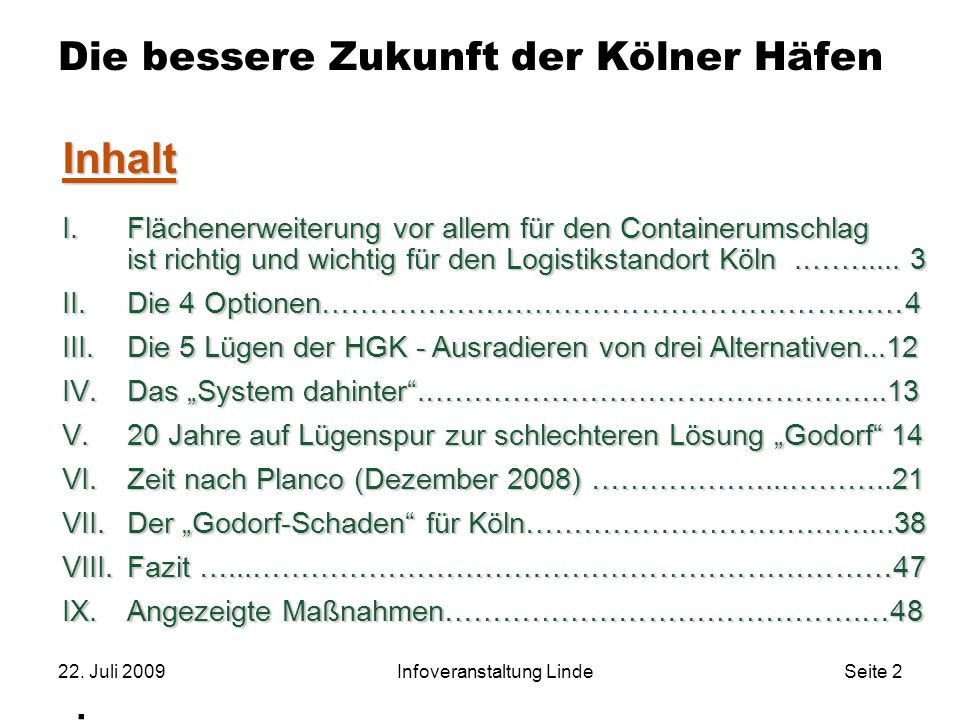 Die bessere Zukunft der Kölner Häfen