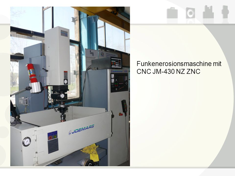 Funkenerosionsmaschine mit CNC JM-430 NZ ZNC