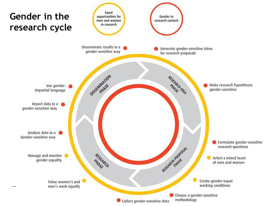 Gender in the research cycle