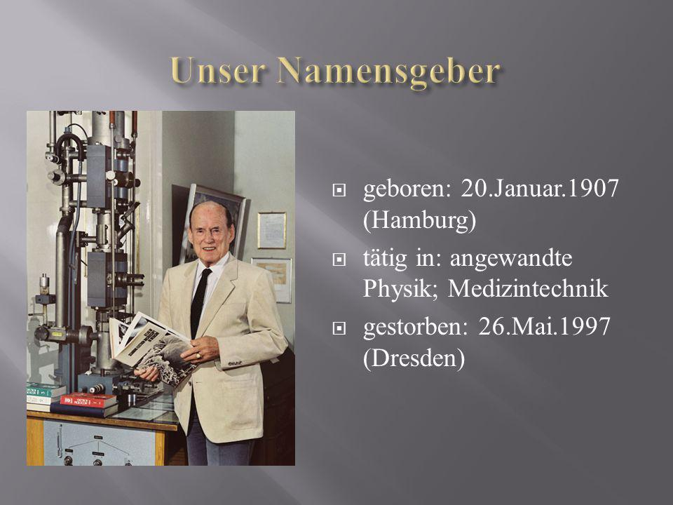 Unser Namensgeber geboren: 20.Januar.1907 (Hamburg)