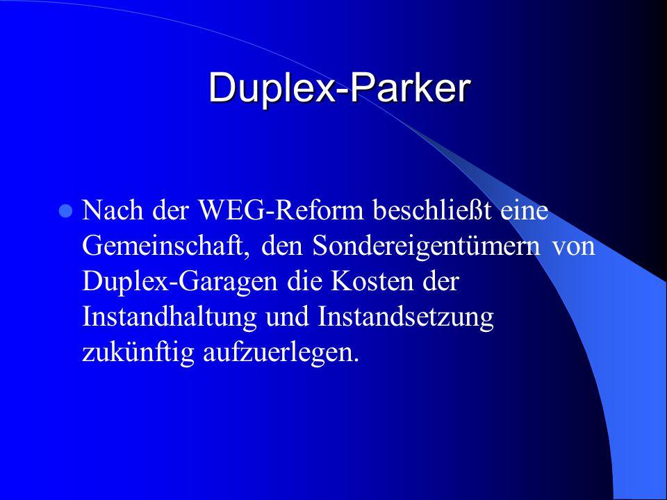 Duplex-Parker
