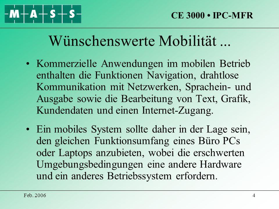 Wünschenswerte Mobilität ...