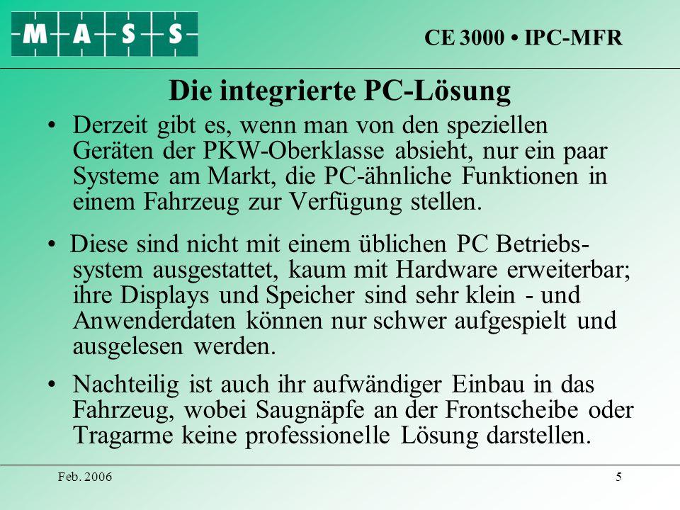 Die integrierte PC-Lösung