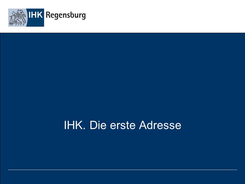 IHK. Die erste Adresse (Stand September 2007)