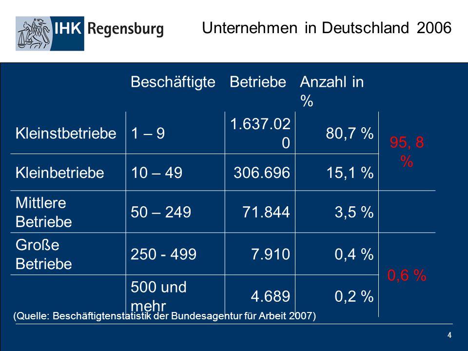Unternehmen in Deutschland 2006