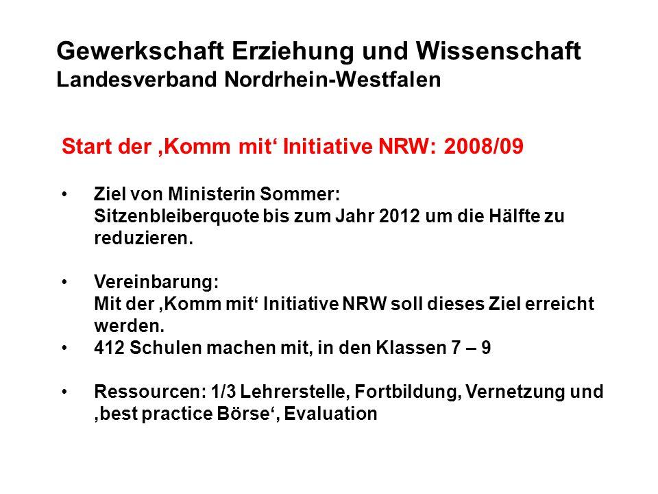 Gewerkschaft Erziehung und Wissenschaft Landesverband Nordrhein-Westfalen