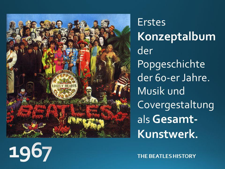 Erstes Konzeptalbum der Popgeschichte der 60-er Jahre