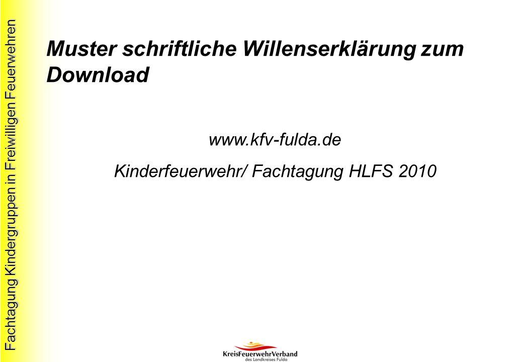Kinderfeuerwehr/ Fachtagung HLFS 2010
