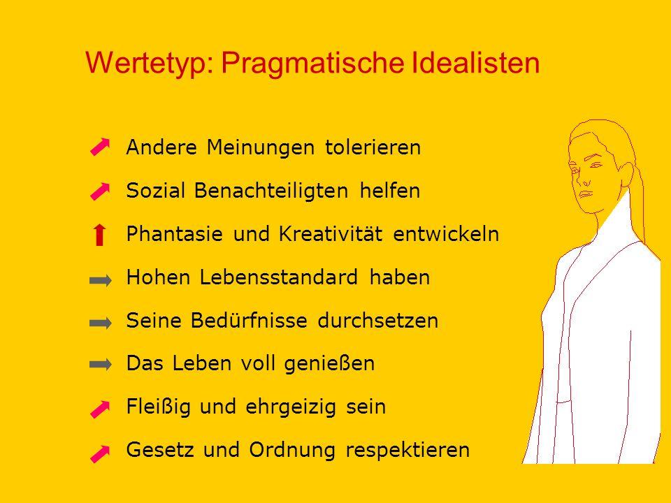 Wertetyp: Pragmatische Idealisten