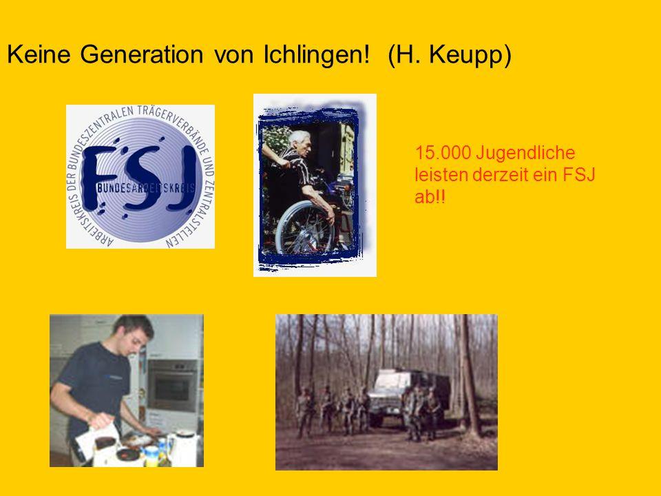 Keine Generation von Ichlingen! (H. Keupp)