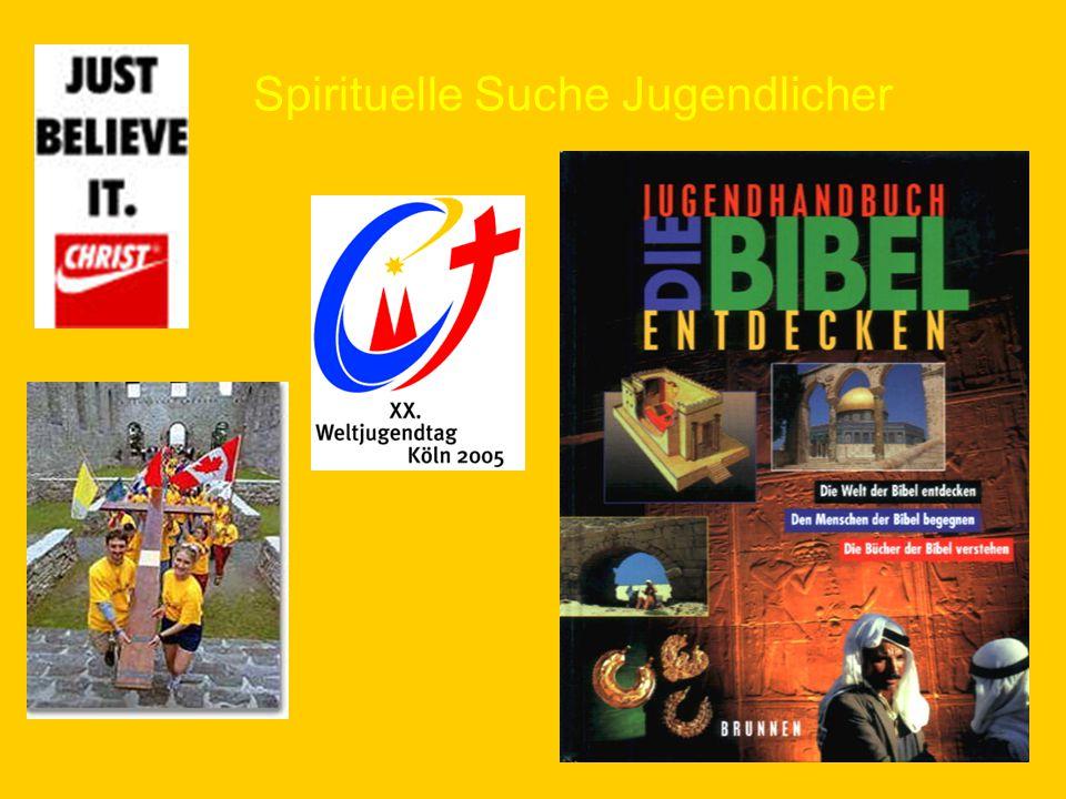 Spirituelle Suche Jugendlicher