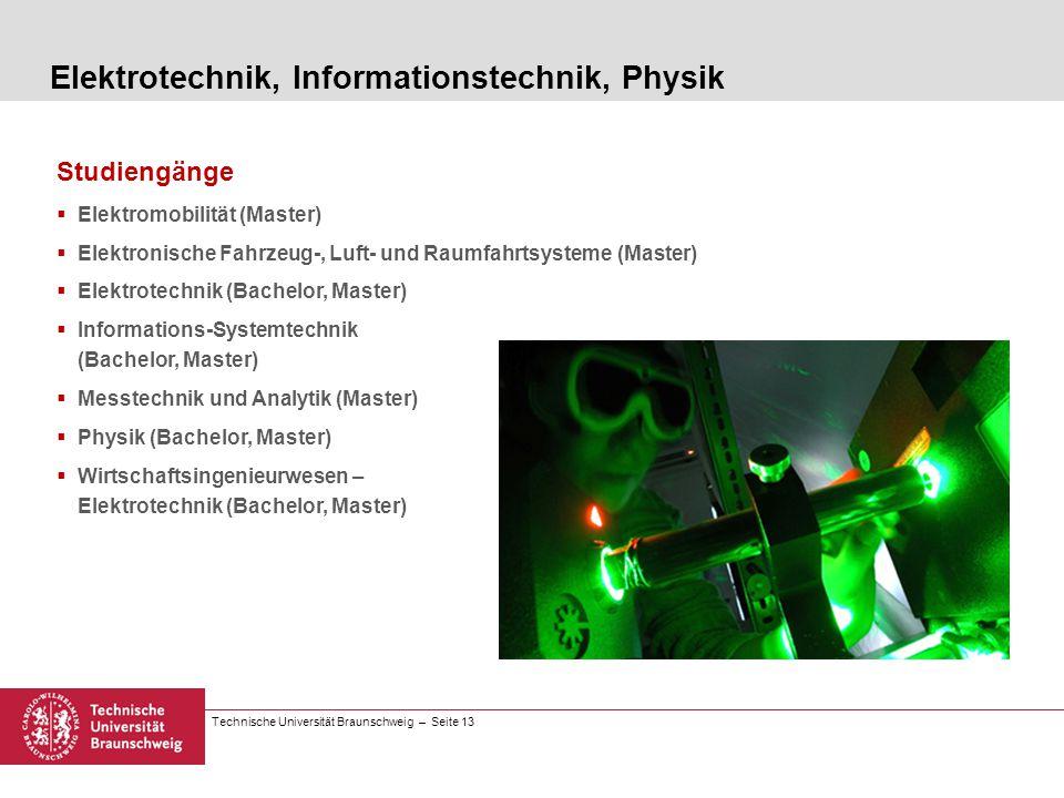 Elektrotechnik, Informationstechnik, Physik