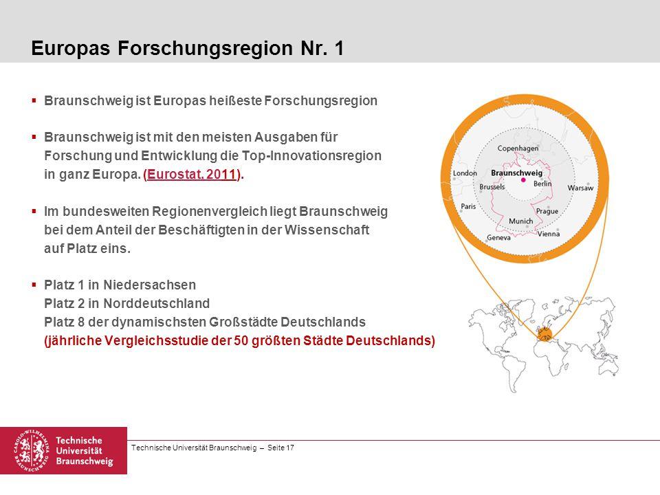 Europas Forschungsregion Nr. 1