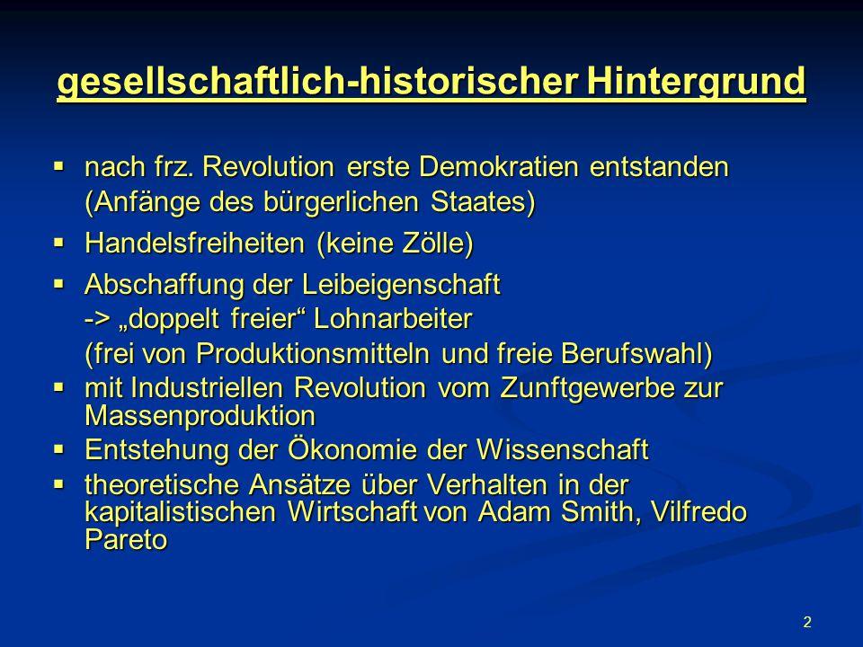 gesellschaftlich-historischer Hintergrund