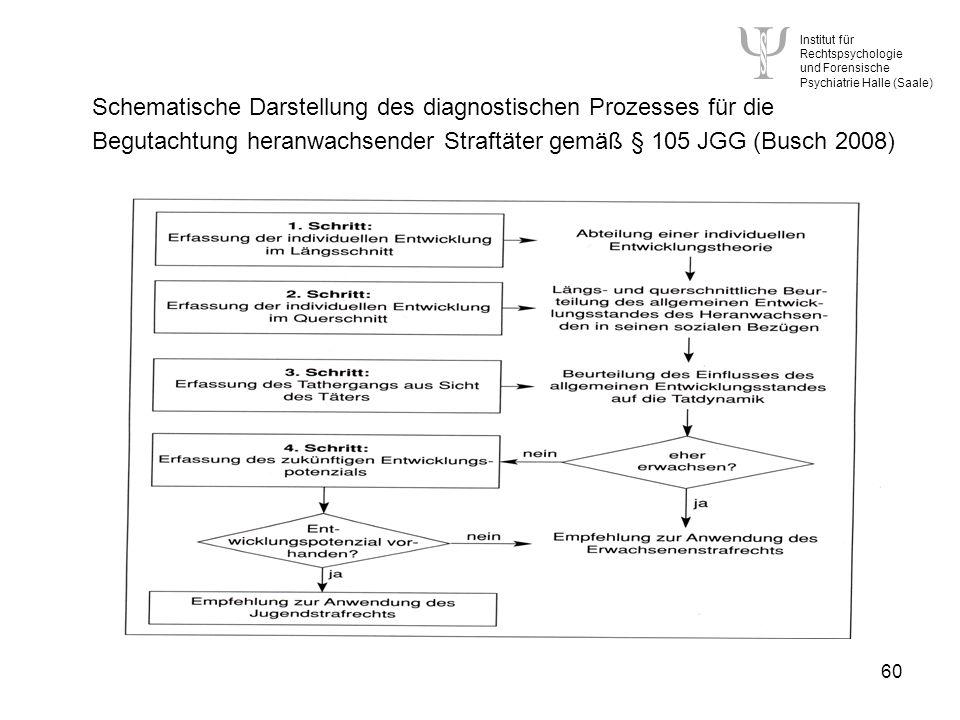 Schematische Darstellung des diagnostischen Prozesses für die