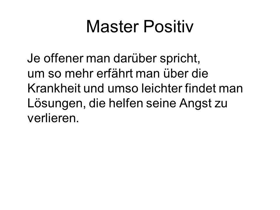 Master Positiv