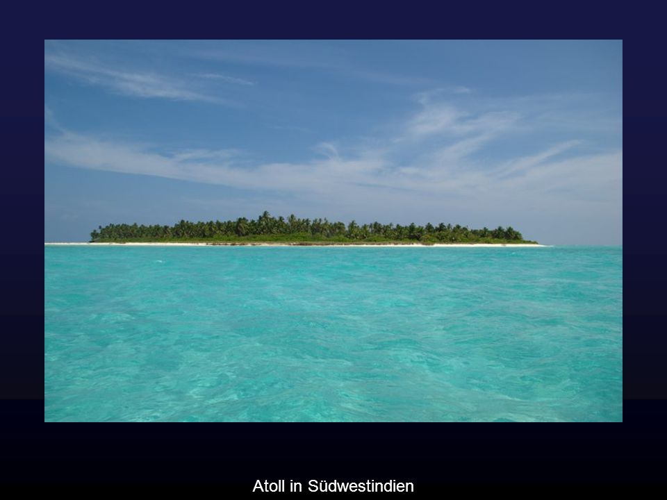 Atoll in Südwestindien