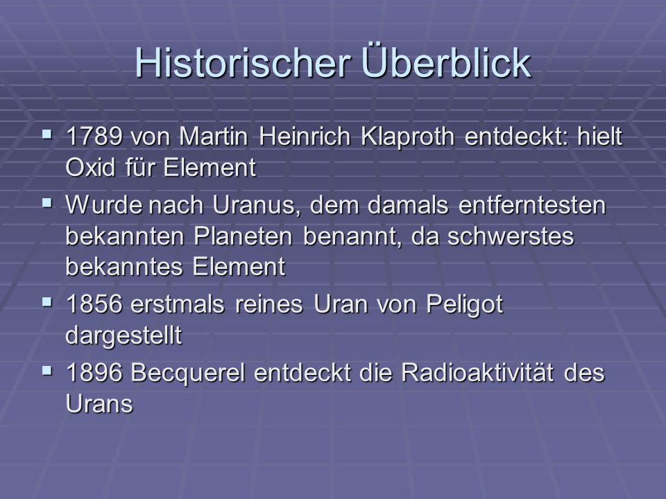 Historischer Überblick