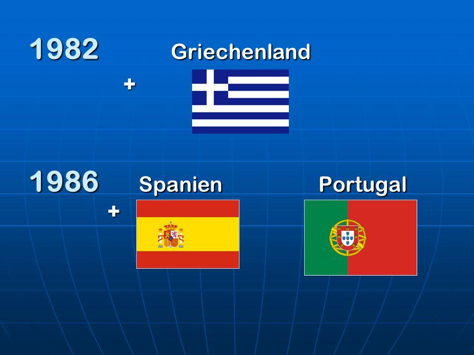 1982 Griechenland + 1986 Spanien Portugal