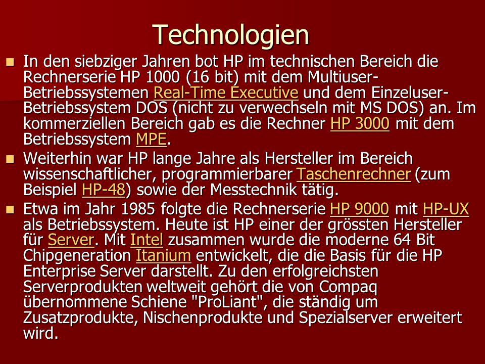 Technologien