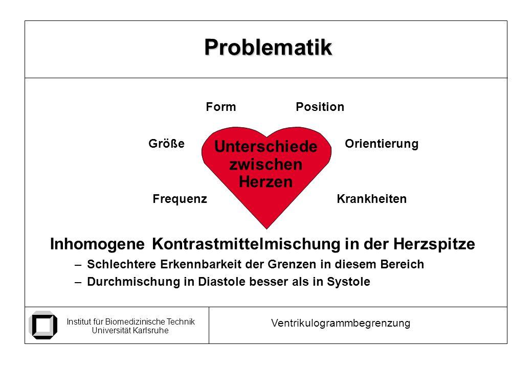 Problematik Unterschiede zwischen Herzen