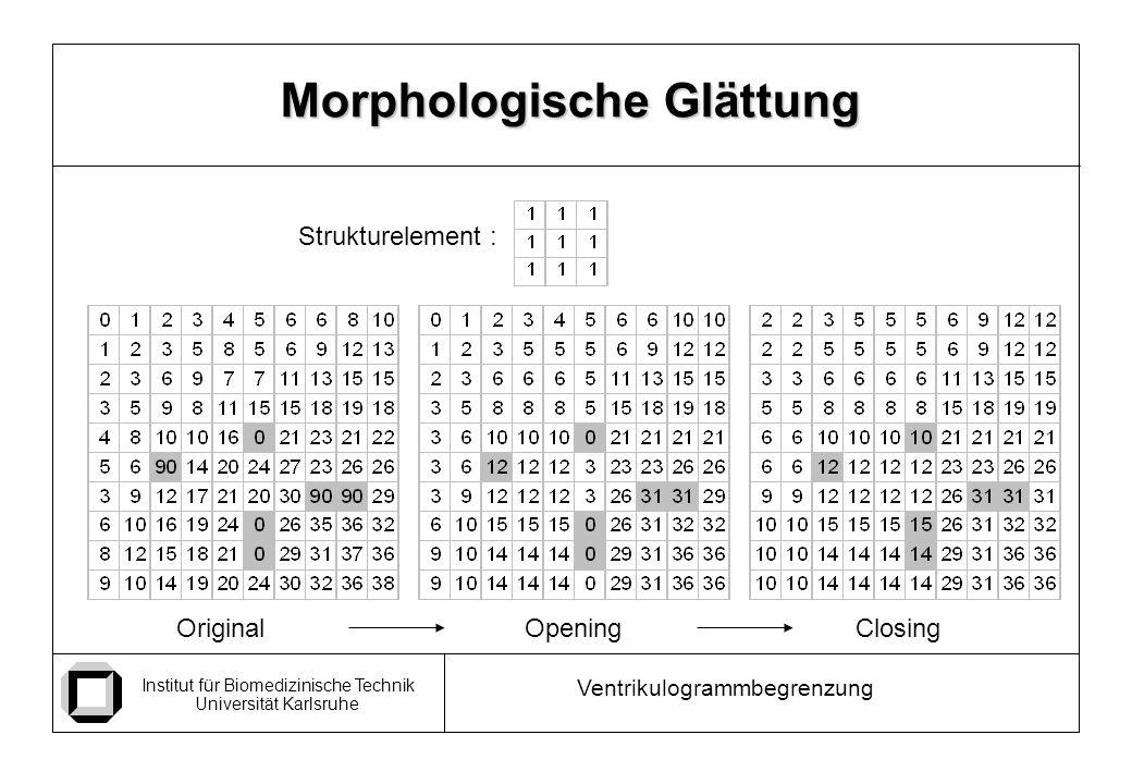 Morphologische Glättung
