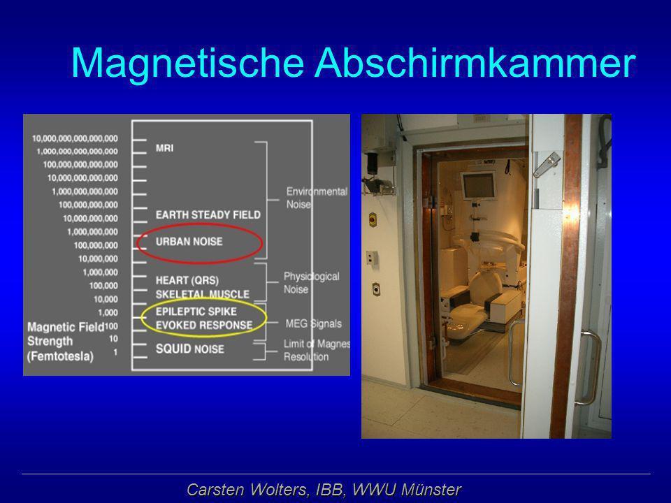Magnetische Abschirmkammer