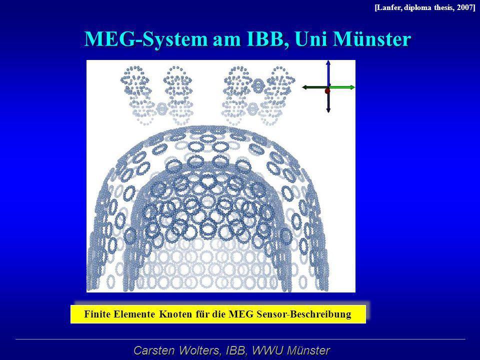 MEG-System am IBB, Uni Münster