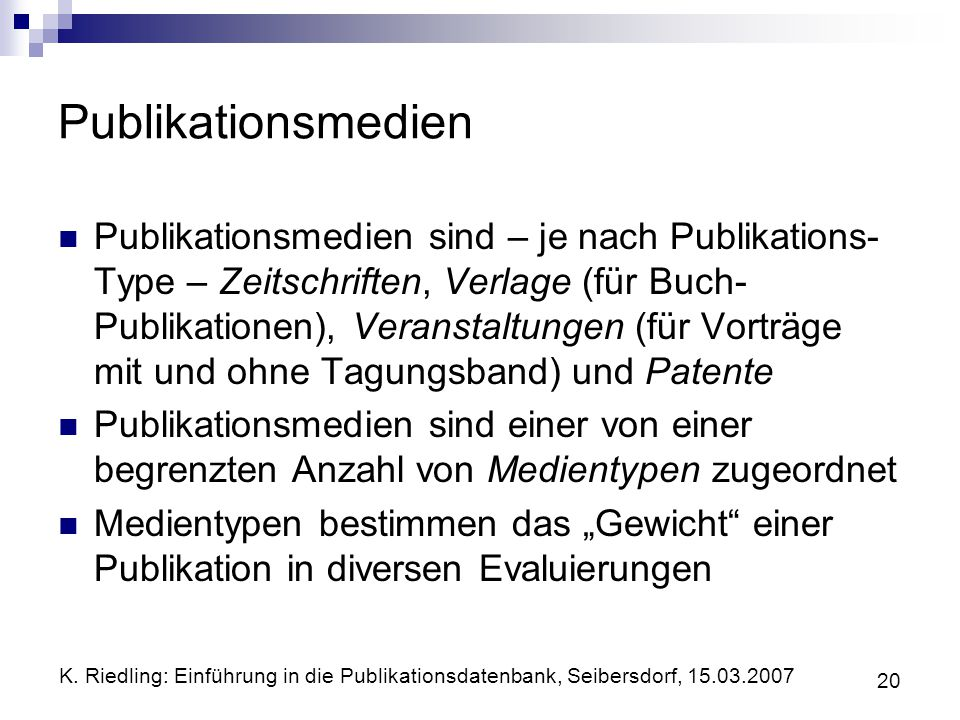 Publikationsmedien