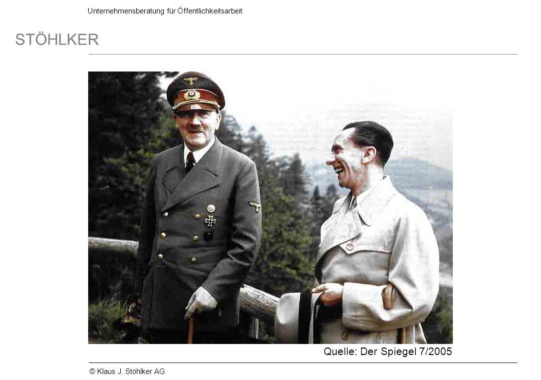 Quelle: Der Spiegel 7/2005