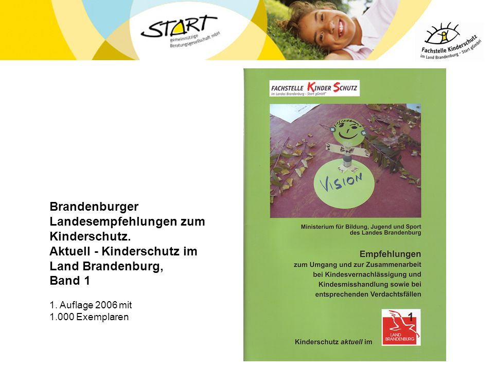 Brandenburger Landesempfehlungen zum Kinderschutz
