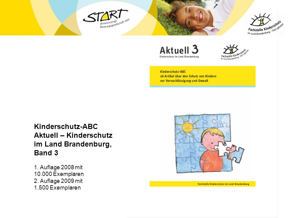 Kinderschutz-ABC Aktuell – Kinderschutz im Land Brandenburg, Band 3