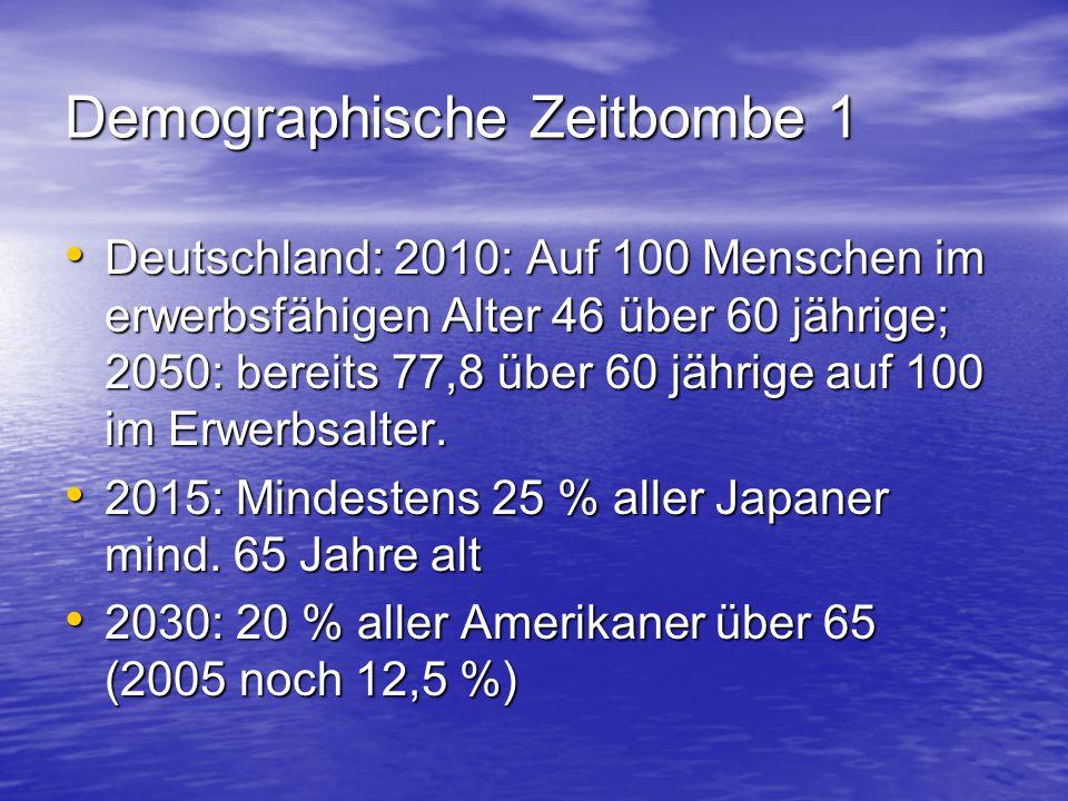 Demographische Zeitbombe 1
