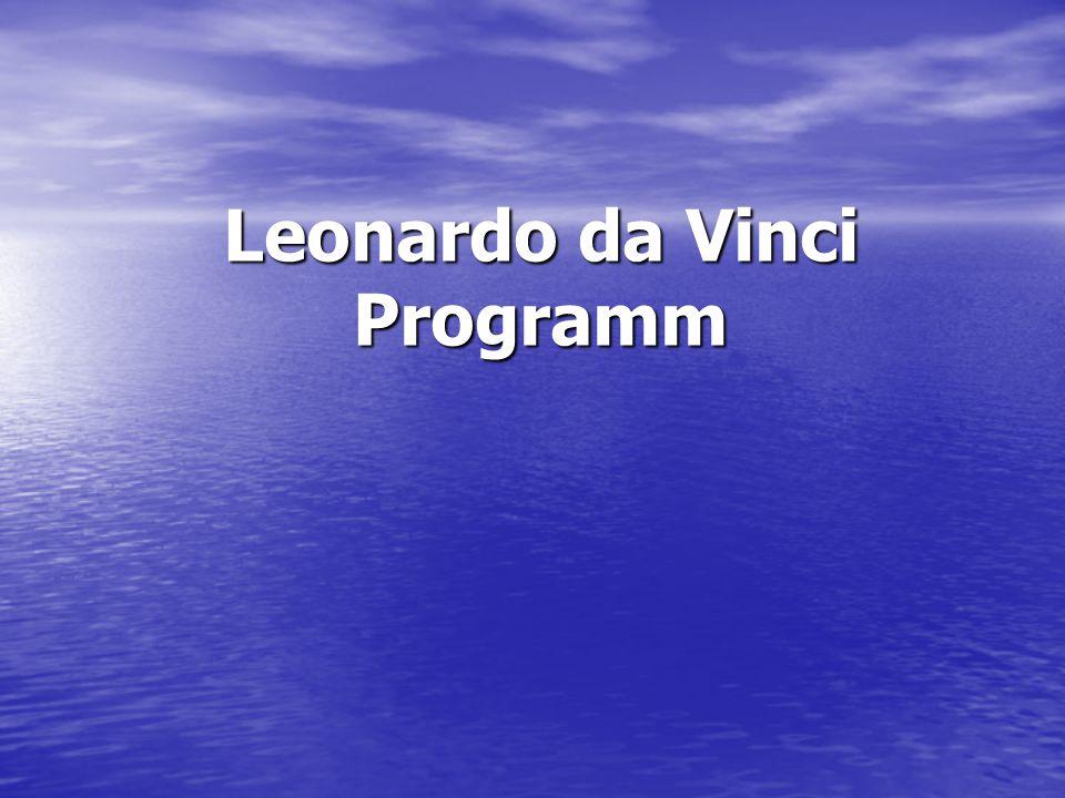 Leonardo da Vinci Programm