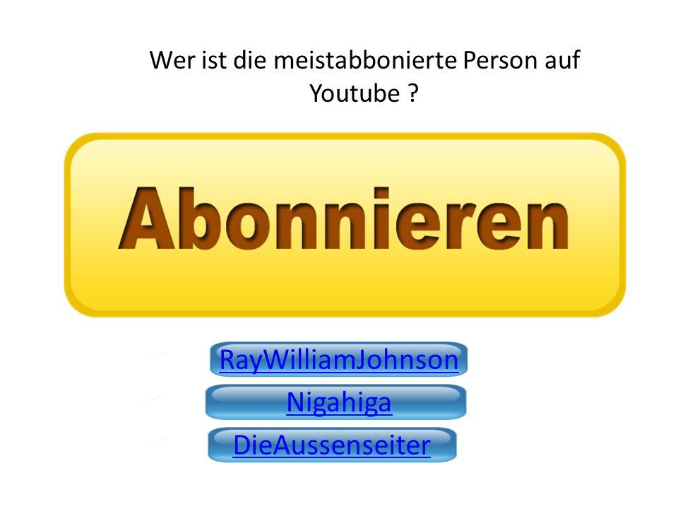 Wer ist die meistabbonierte Person auf Youtube