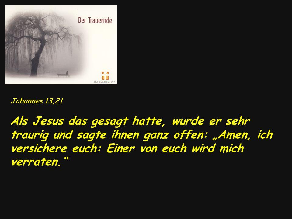 Johannes 13,21